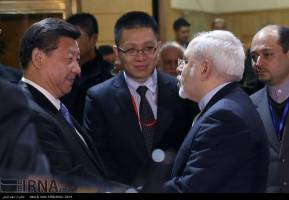 ورود رئیس جمهوری چین به تهران