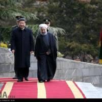 فیلم - استقبال رسمی روحانی از رئیس جمهوری چین